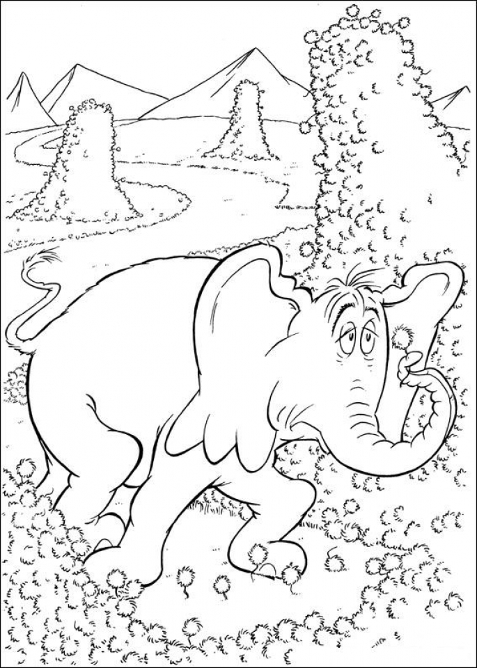 Get This Printable Dr Seuss Coloring Pages Online 36052 !