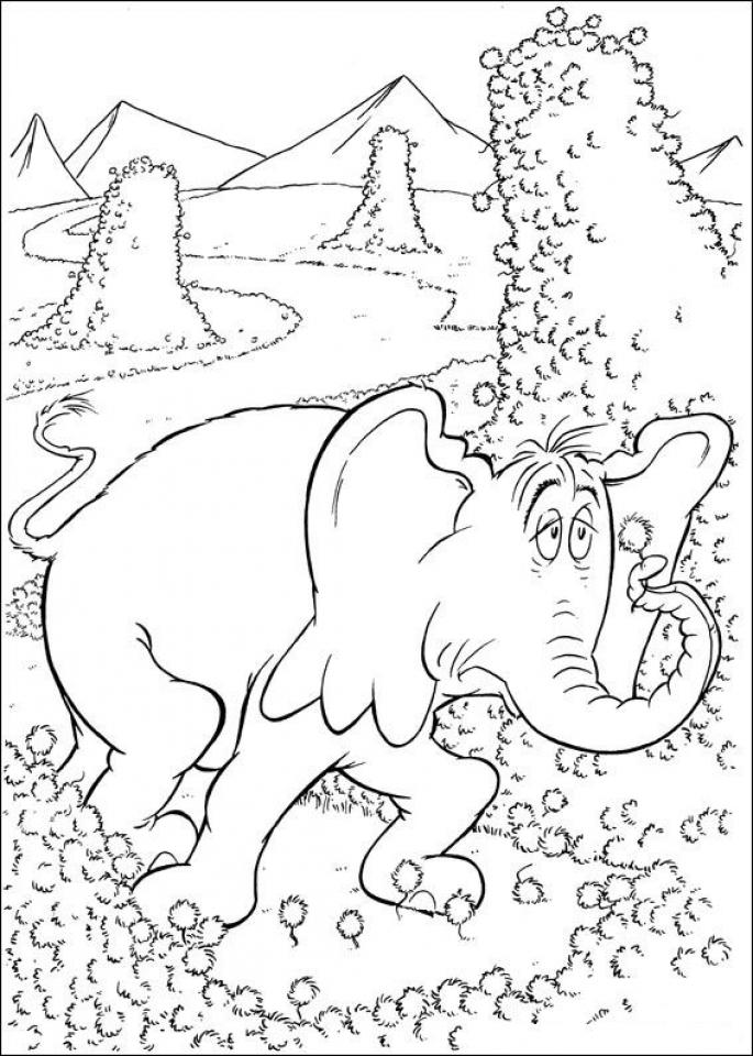 printable dr seuss coloring pages online 36052 - Dr Seuss Coloring Pages Printable
