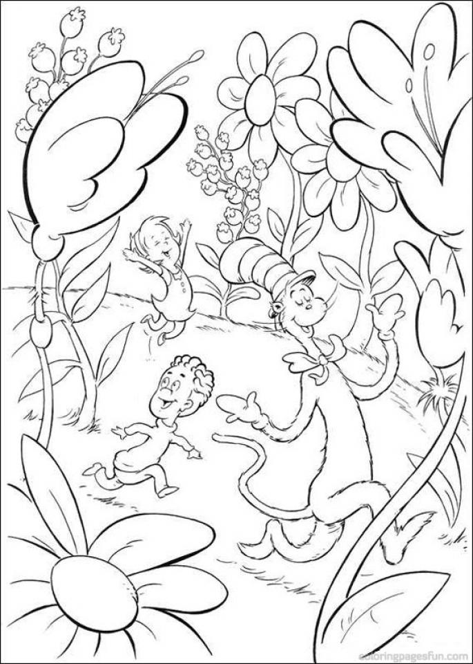 Dr Seuss Coloring Pages   Dr seuss coloring pages, Dr seuss ...   960x685