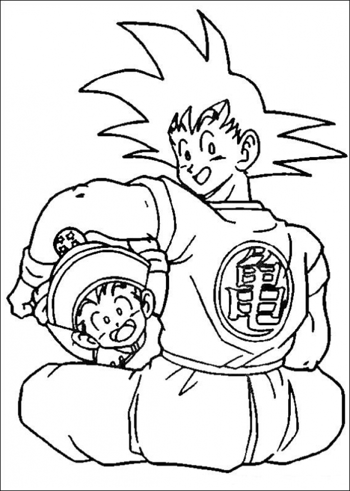Get This Printable Dragon Ball Z Coloring Pages 19257 !