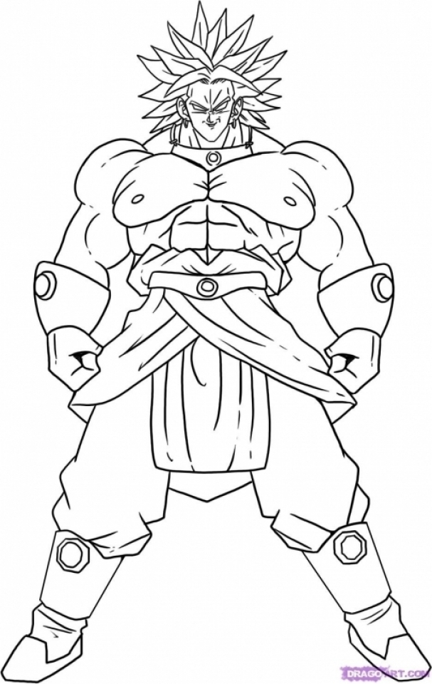 Get This Printable Dragon Ball Z Coloring Pages 88808 !
