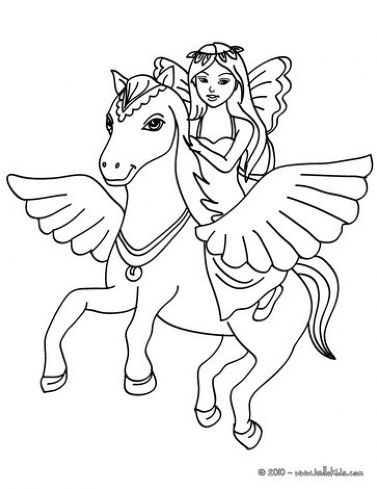 free online fairy coloring pages - photo#28