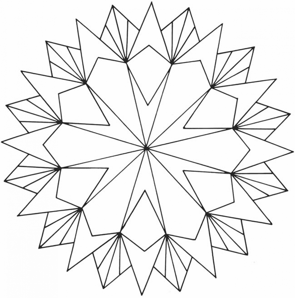 Geometric Coloring Pages Pdf Free Printable : Get this printable geometric coloring pages