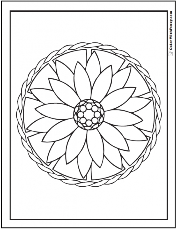 Geometric Coloring Pages Printable Printable Geometric Coloring