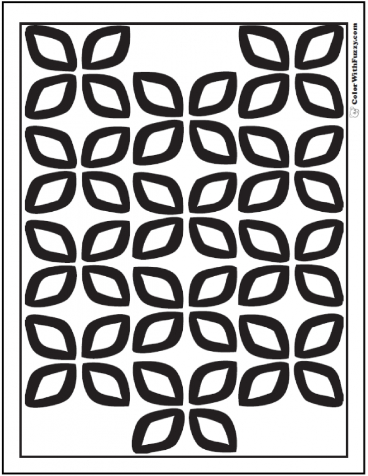 Get this printable geometric coloring pages online 86935 for Geometric coloring pages online