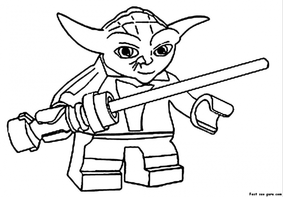 Get This Printable Lego Star Wars Coloring Pages 66664