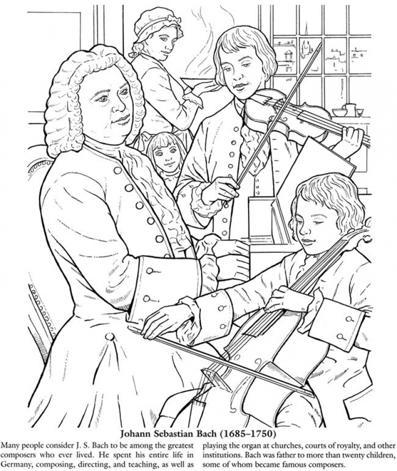 Get this printable music coloring pages for kindergarten for Coloring pages of music