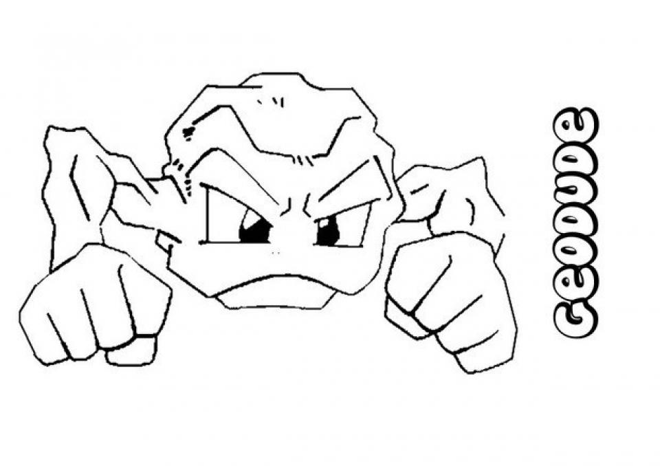 Printable Pokemon Coloring Page 98493