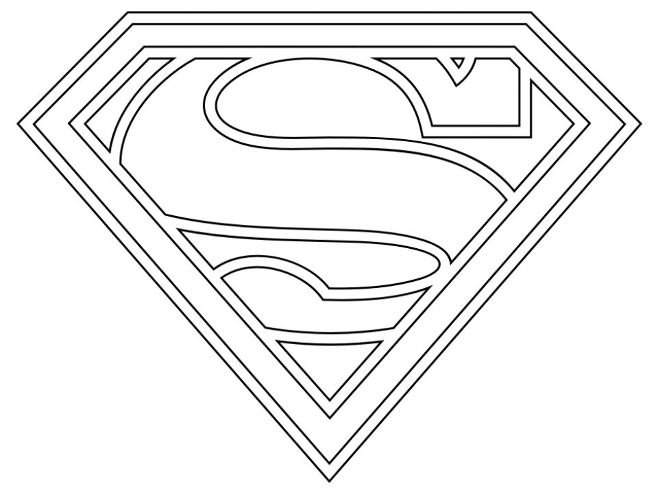 Get This Printable Superman Coloring Pages 89920