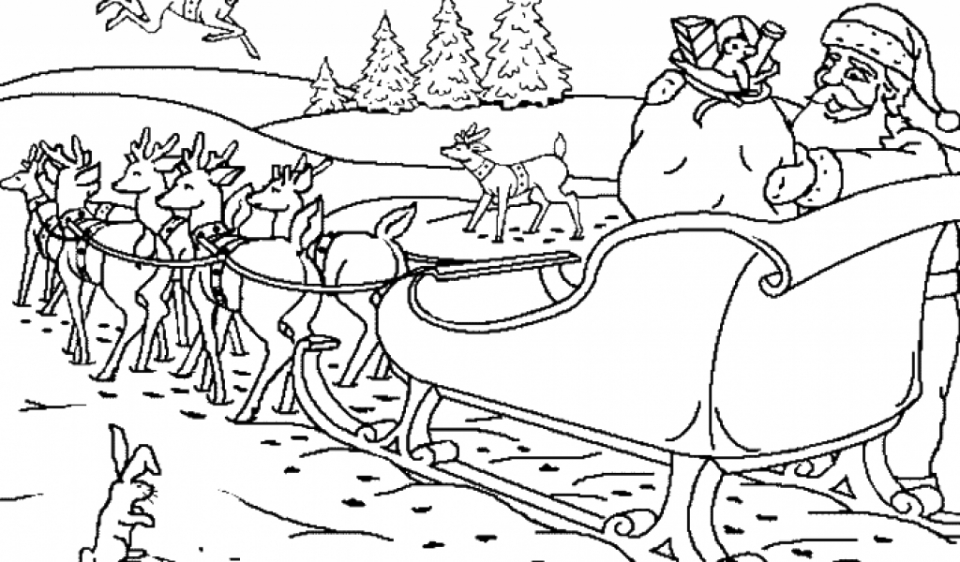 reindeer coloring pages online 78452 - Coloring Pages Online