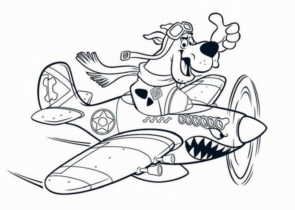 scooby doo coloring pages free 59761