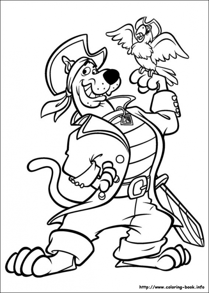 Get This Scooby Doo Coloring Pages to Print 51752