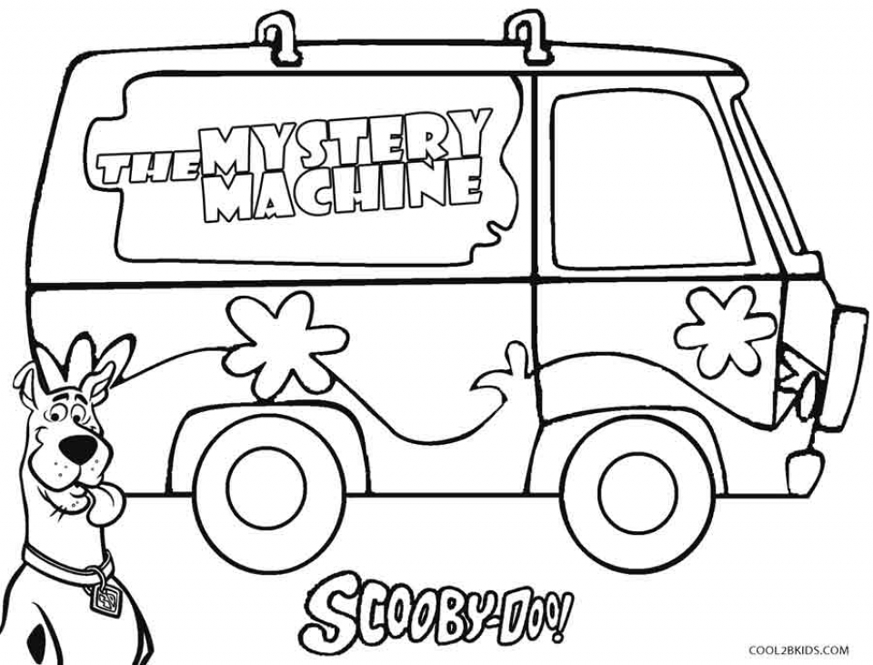 scooby doo coloring pictures 58989 - Scooby Doo Coloring Pages