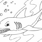 shark coloring pages for older kids | 20+ Free Printable Shark Coloring Pages - EverFreeColoring.com