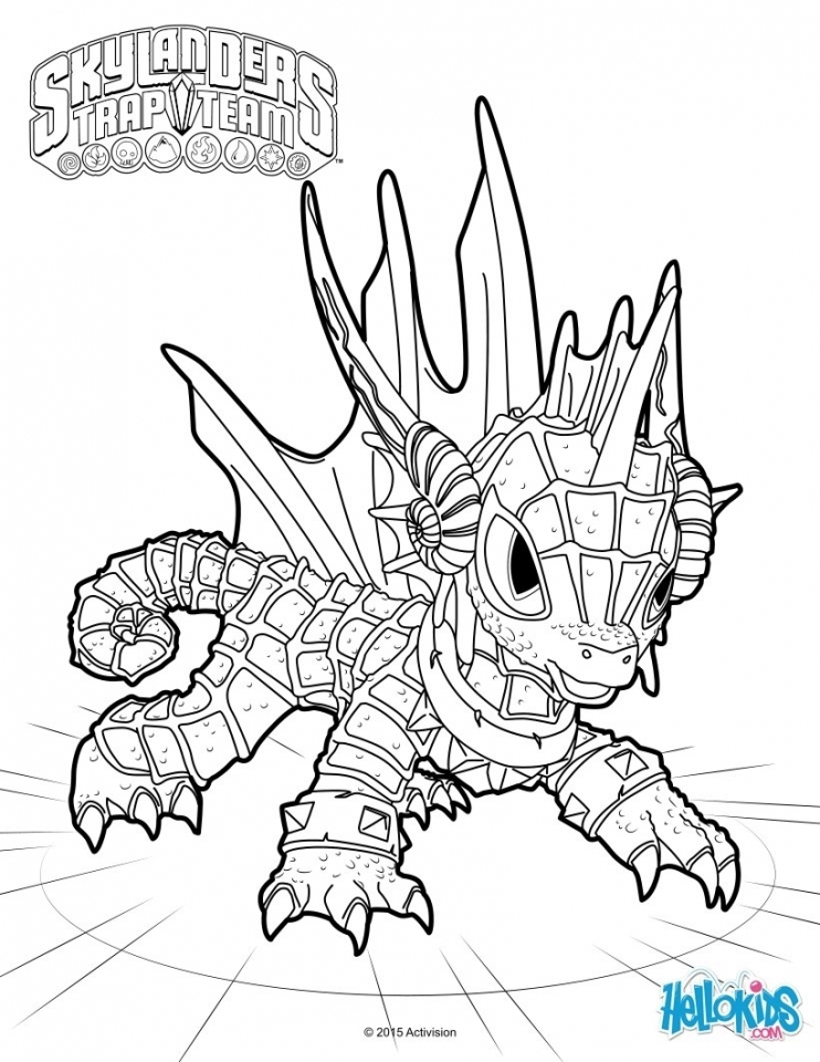Skylander Coloring Pages for Boys and Girls   85618