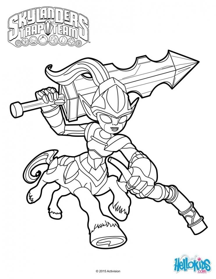 Get This Skylander Coloring Pages Online 06939 !