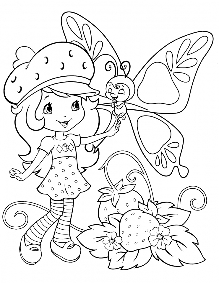 graphic regarding Strawberry Shortcake Printable Coloring Pages identify Buy This Strawberry Shortcake Printable Coloring Webpages 47169 !