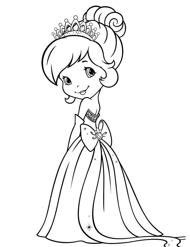 Strawberry Shortcake Printable Coloring Pages 51535