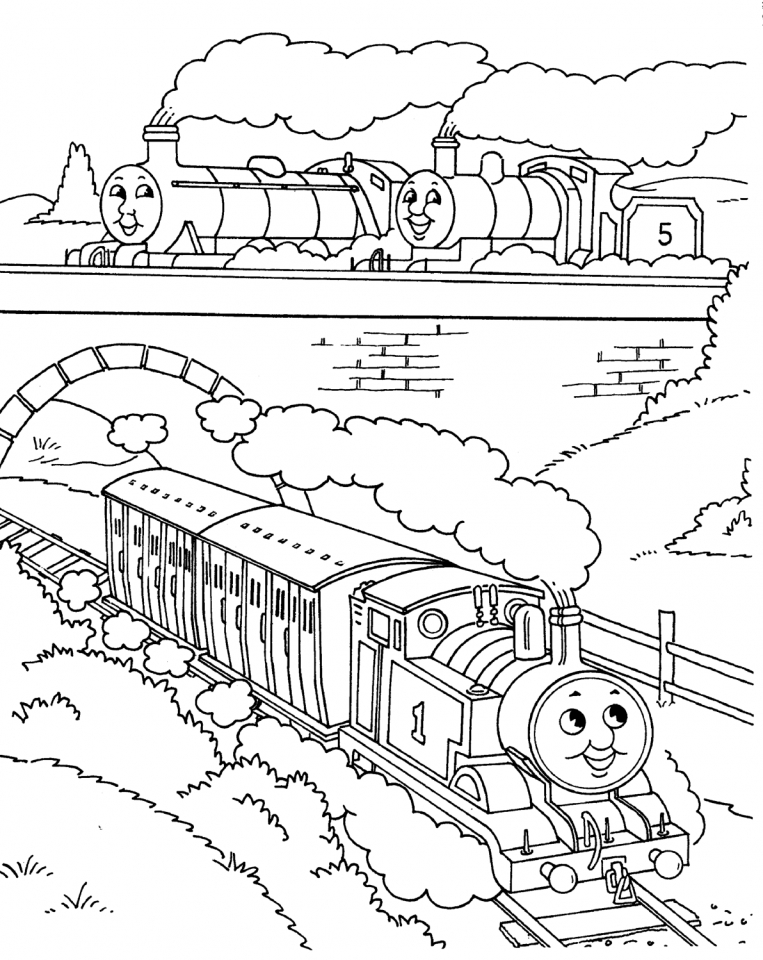 Get This Thomas the Tank Engine Coloring Pages Free 65100 !