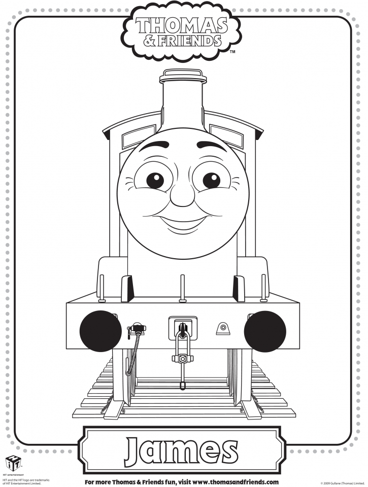 Get This Thomas the Tank Engine Coloring Pages Free Printable 04156