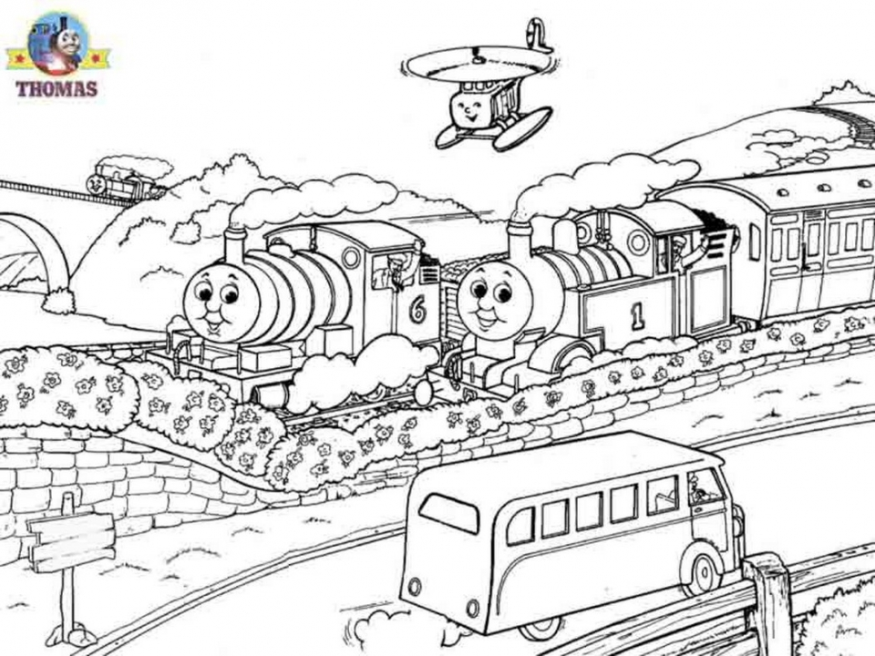 Get This Thomas the Tank Engine Coloring Pages Online 29336 !
