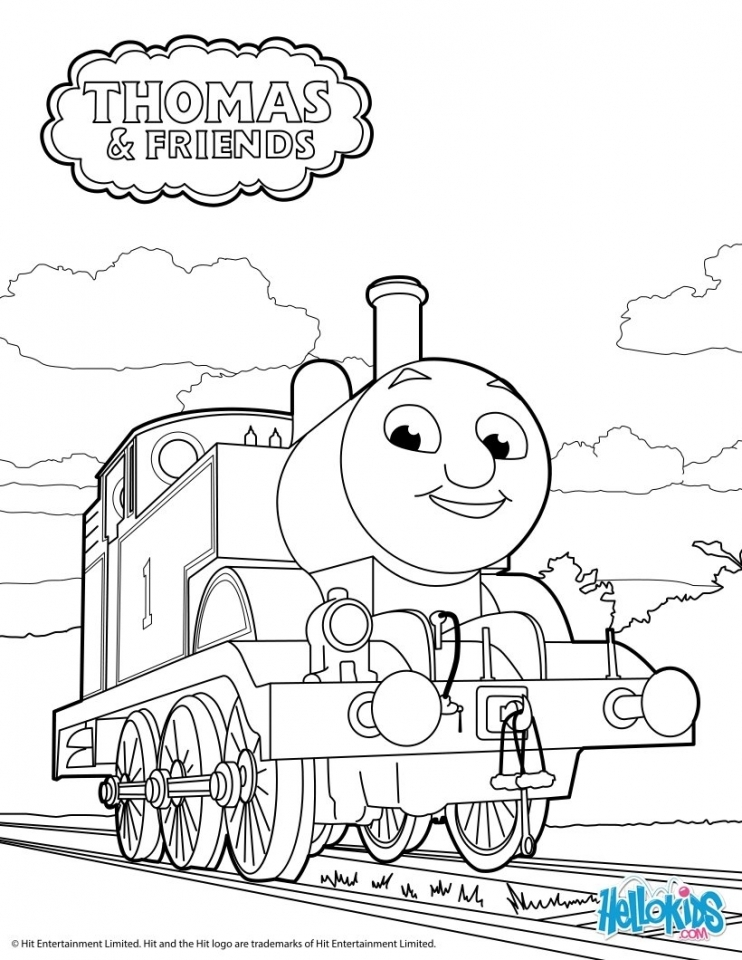 Get This Thomas The Train Coloring Pages Online 28571