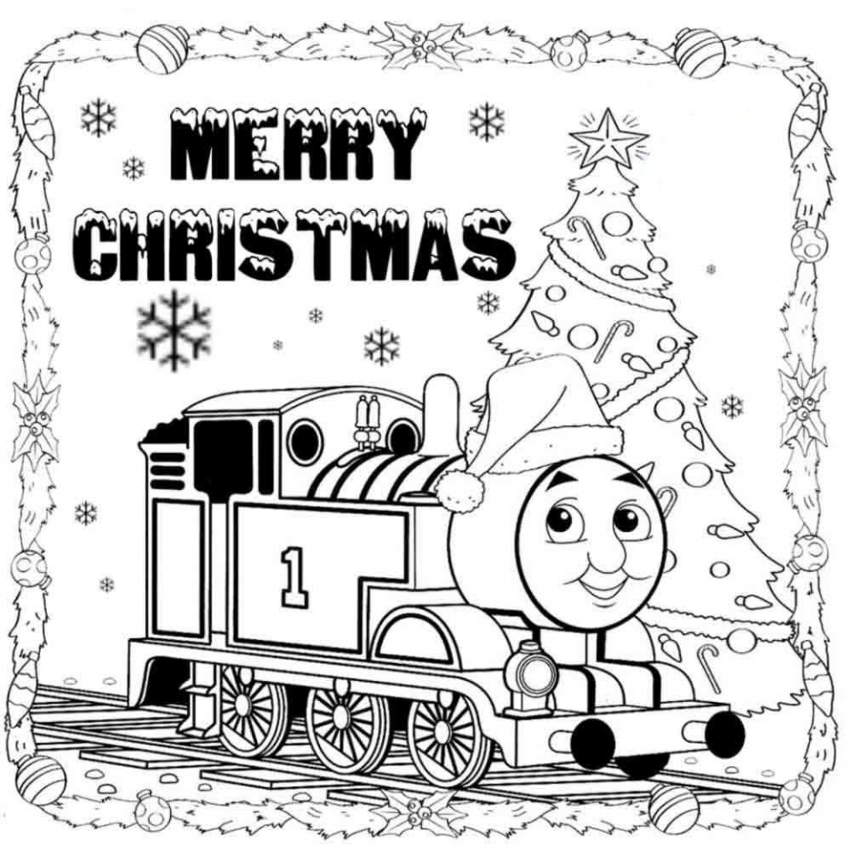 Get This Thomas the Train Coloring