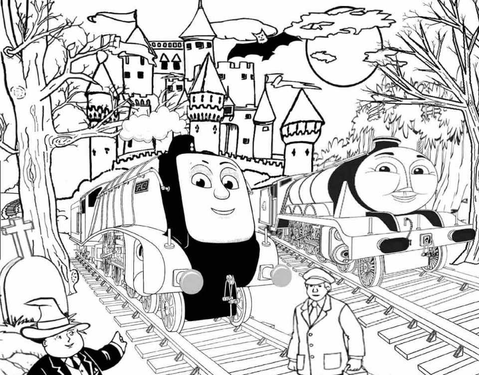 Get this thomas the train coloring pages printable 40414 for Printable thomas the train coloring pages