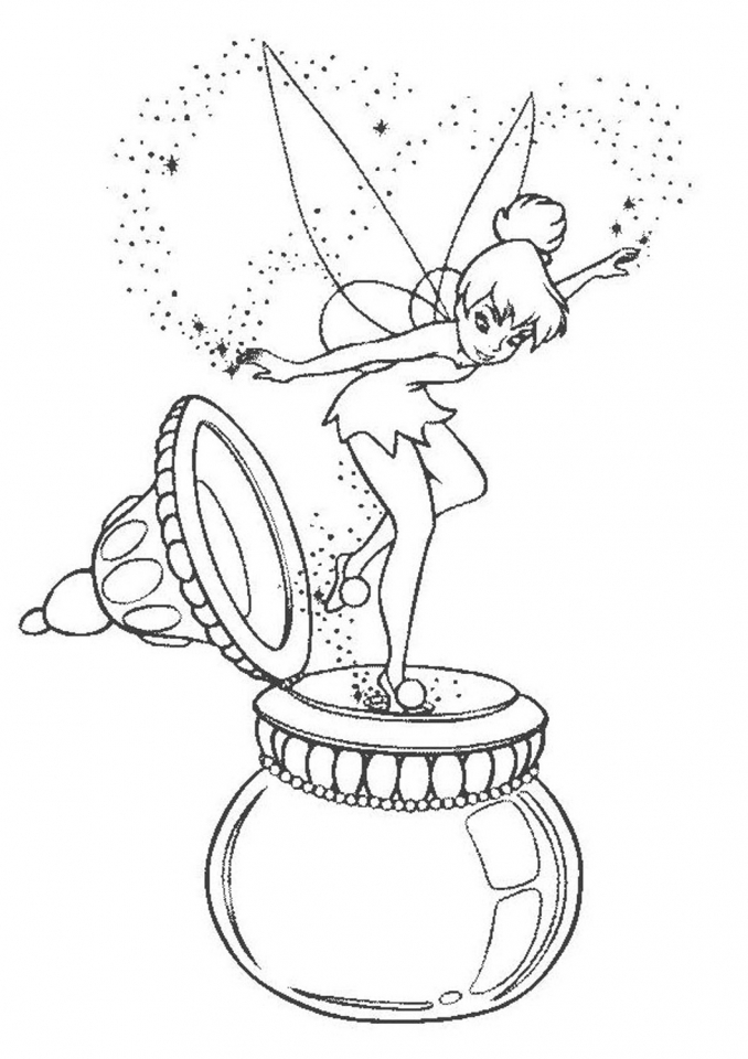 tinker bell coloring pages printable for girls 14285 - Bell Coloring Pages