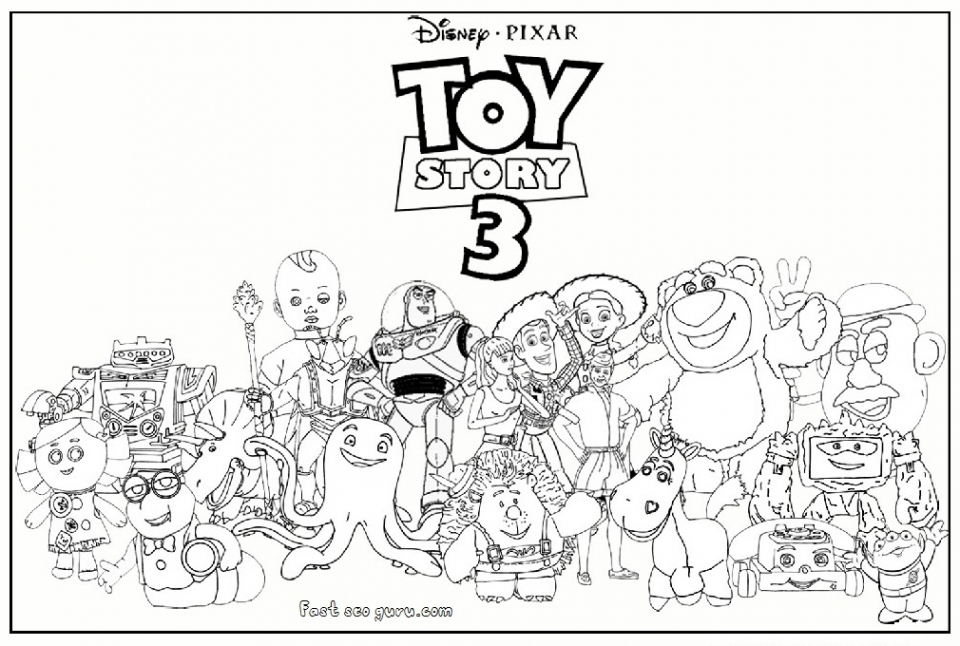 Get This Toy Story Coloring Pages Online 62768 Story Coloring Pages