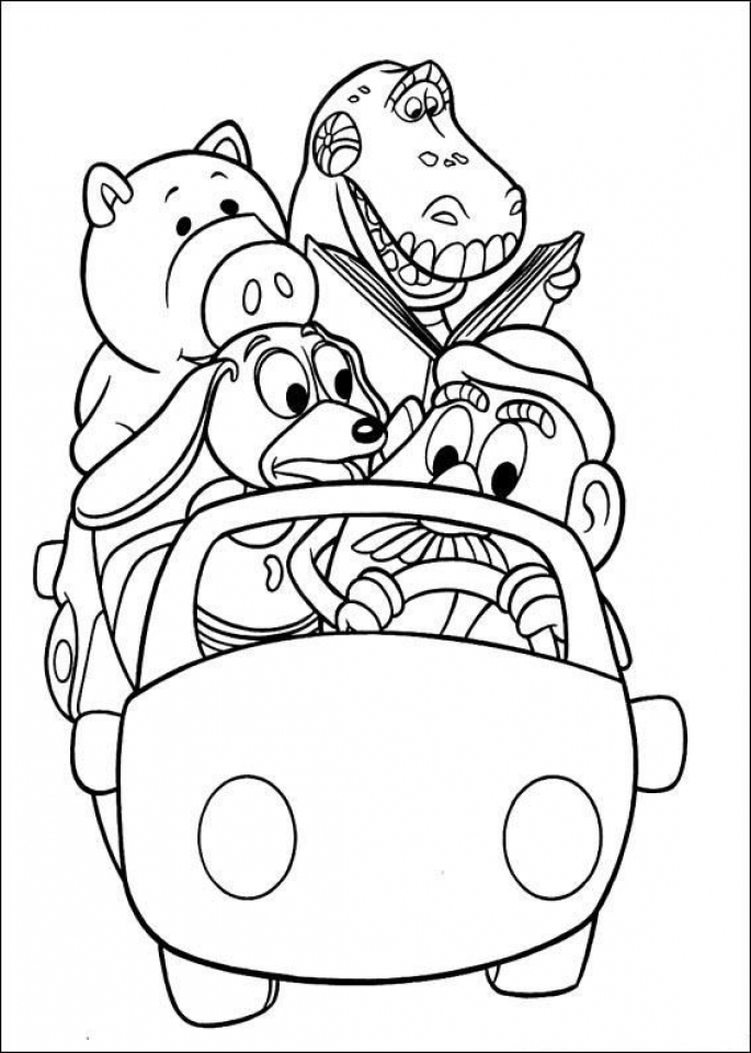 Get This Toy Story Coloring Pages to Print Out 75933