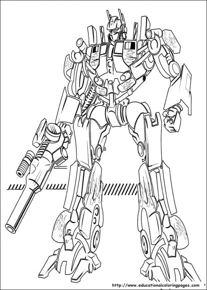 20 Free Printable Optimus Prime Coloring Page EverFreeColoringcom