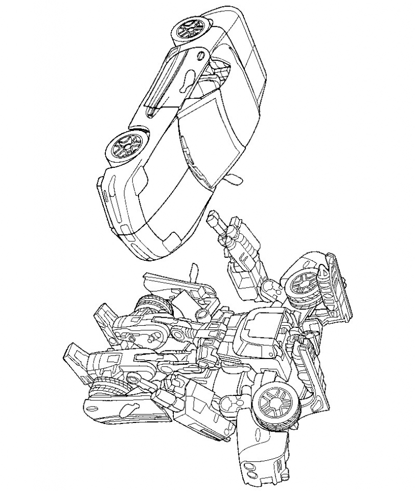transformer happy birthday coloring pages - photo#26