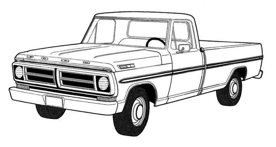 Get This Truck Coloring Pages Kids Printable 16558 !