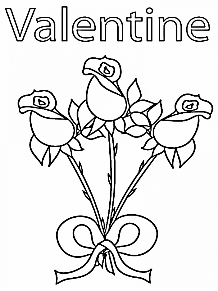 Valentines Day Coloring Pages Frozen : Frozen valentine pages coloring