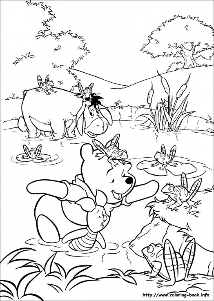 Winnie the Pooh Coloring Pages for Kids   49817
