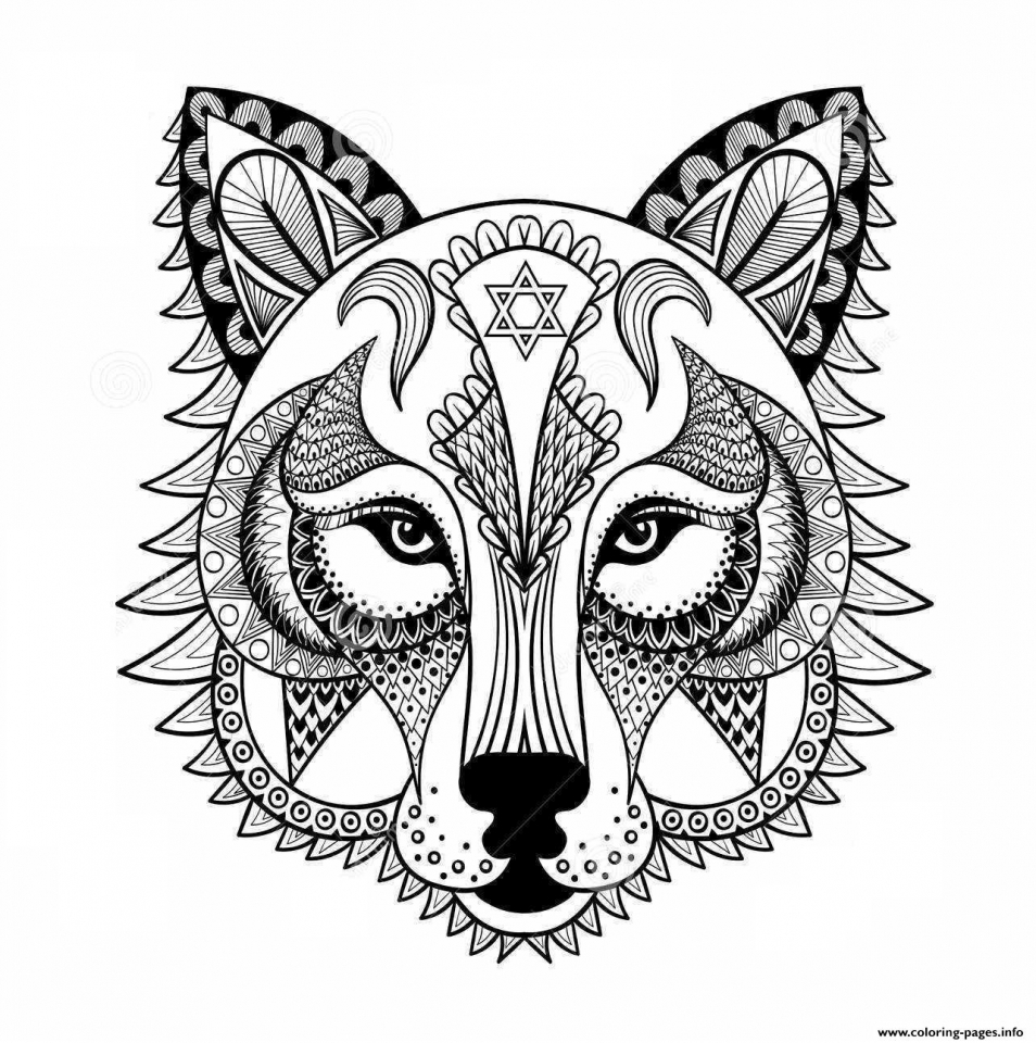 Get this wolf coloring pages for adults 47582 for Free printable wolf coloring pages