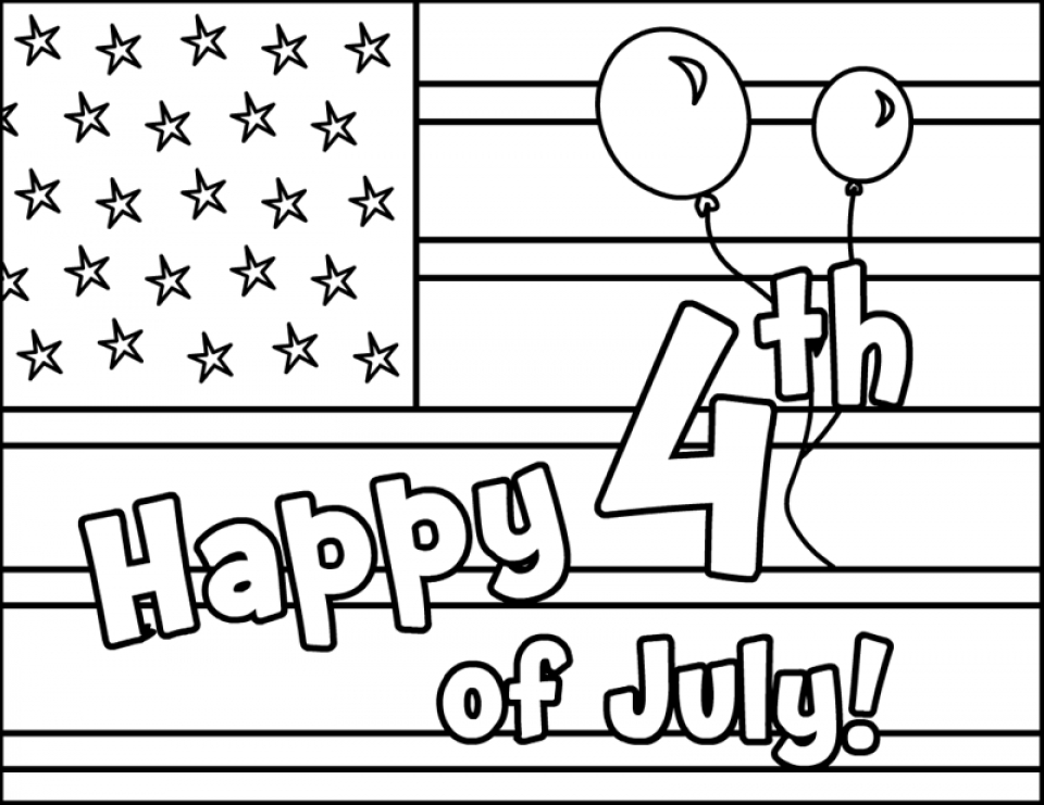 20+ Free Printable 4th of July Coloring Pages ...
