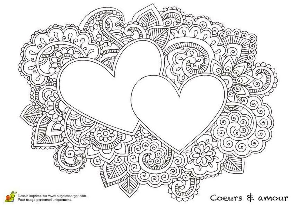 Get This Adults Printable Love Coloring Pages - 7etq4 !