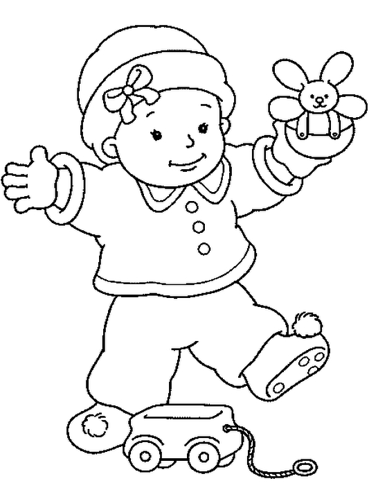 online baby coloring pages - photo#47