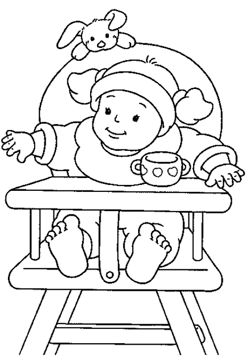 Baby Coloring Pages Online 931l3