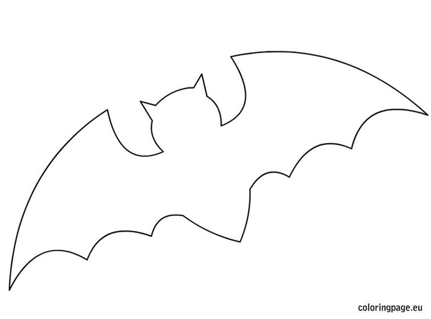 Get This Bat Coloring Pages Free Printable 41552