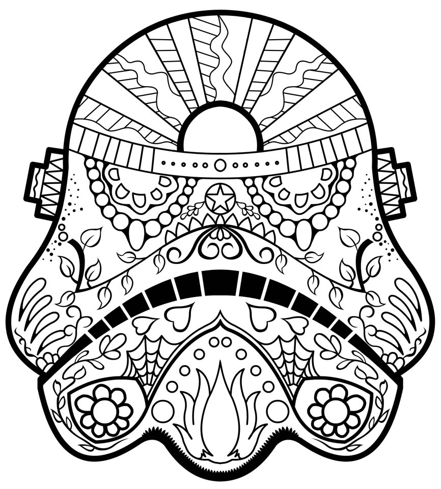 Get This Day Of The Dead Coloring Pages Online Printable - Tcv31 !