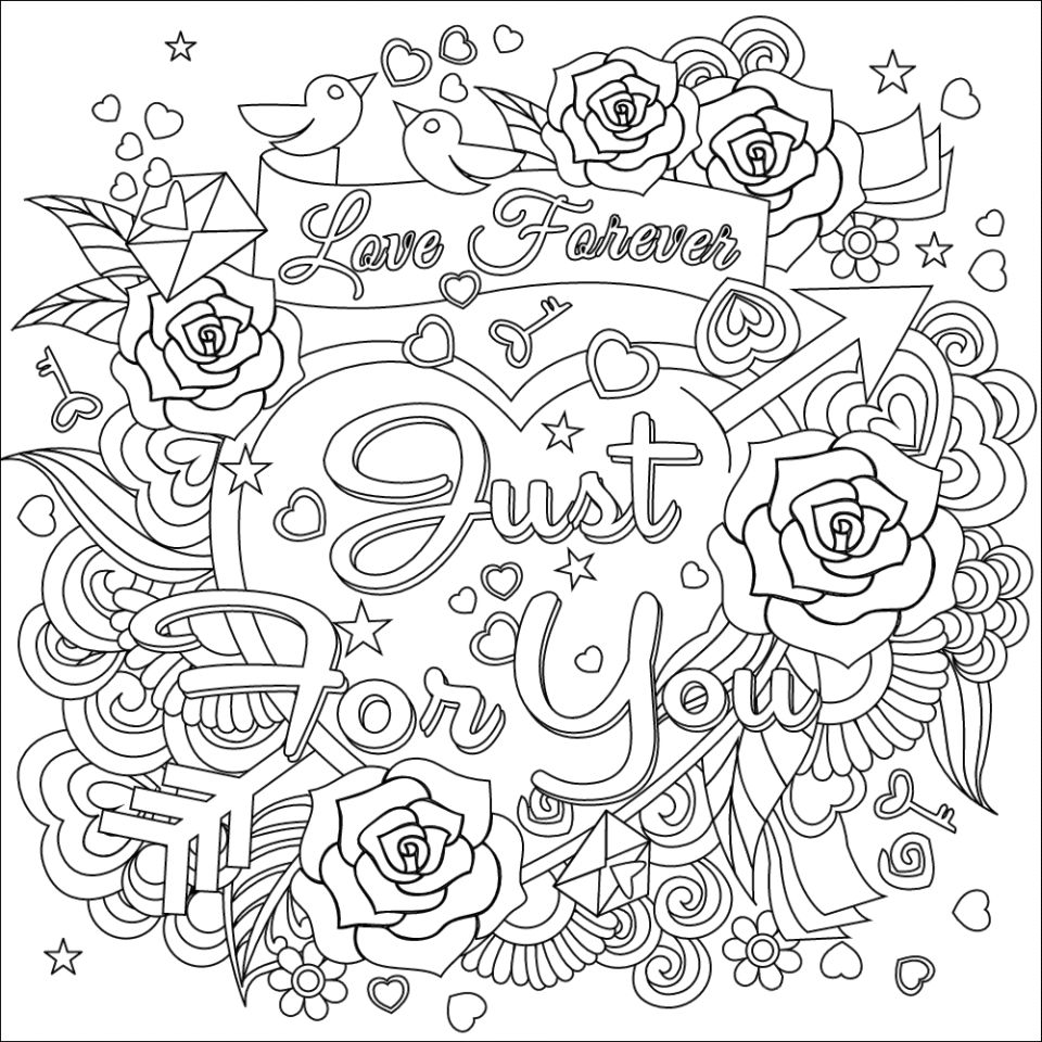 Love my husband coloring pages sketch coloring page for Love you coloring pages
