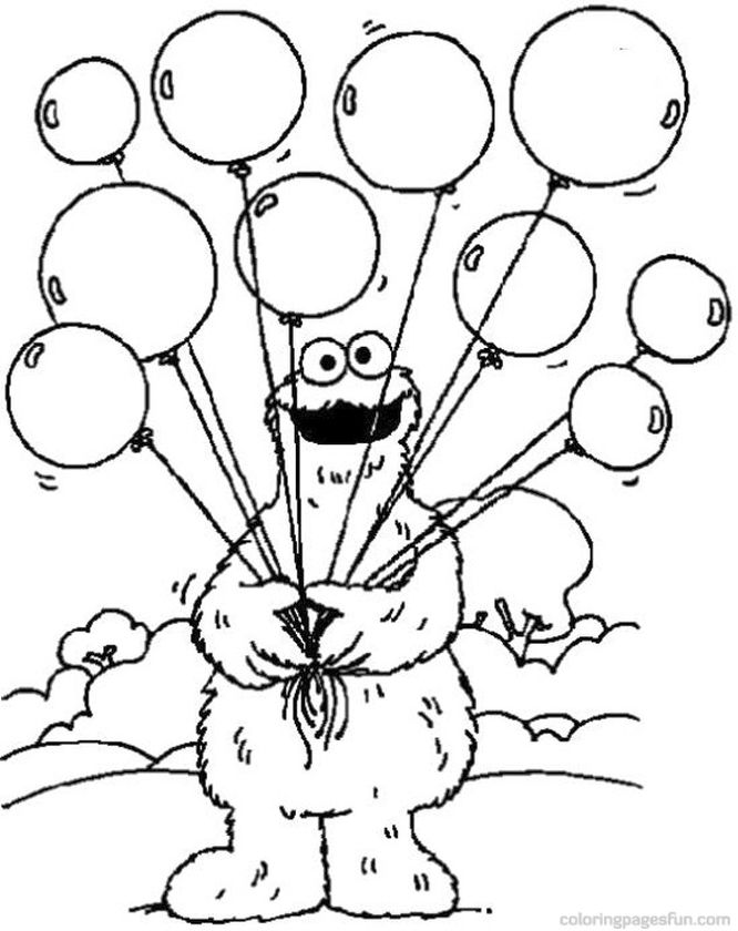 Get This Sesame Street Coloring Pages Free Printable - 217sf !