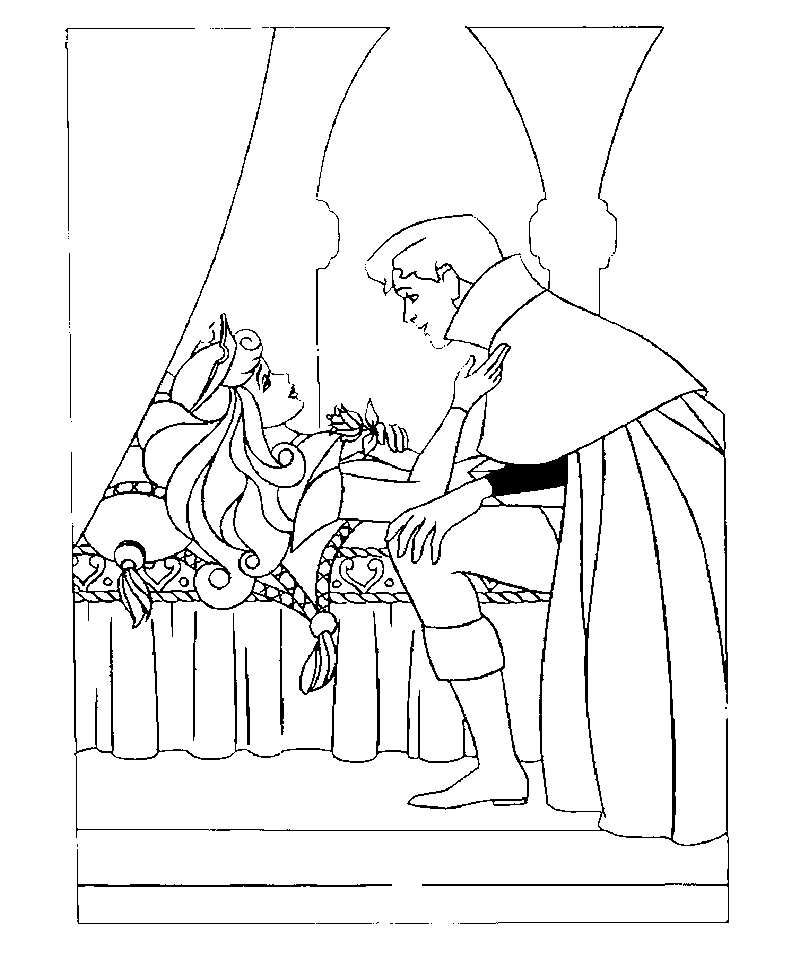 Get This Sleeping Beauty Coloring Pages Free to Print - 4u55l !