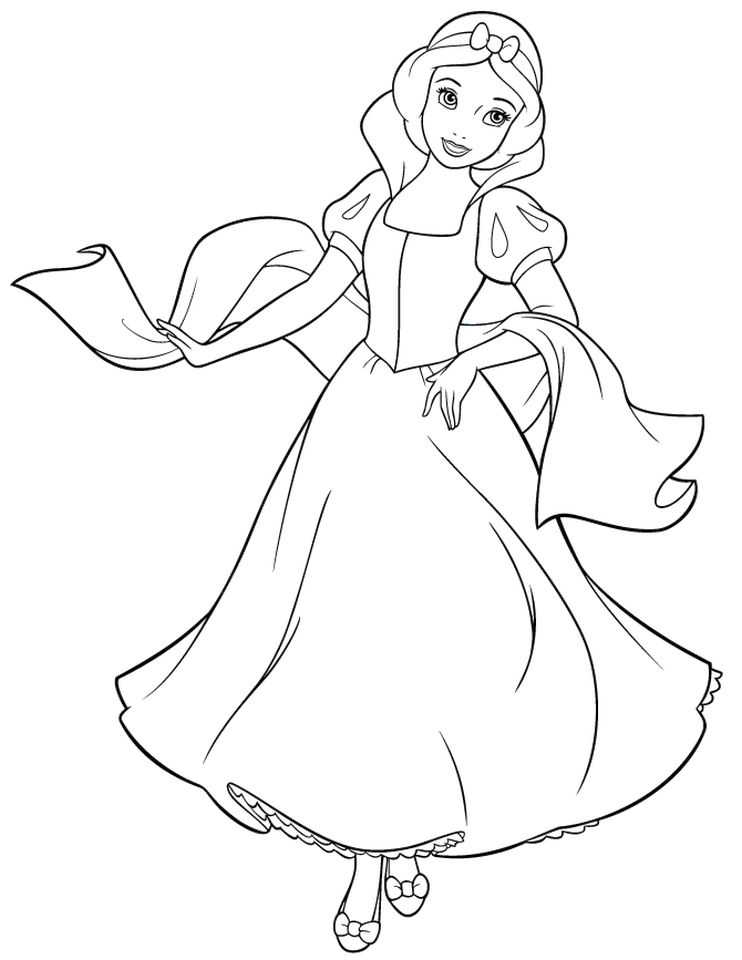 Get This Snow White Coloring Pages Princess Printables - m78bn !