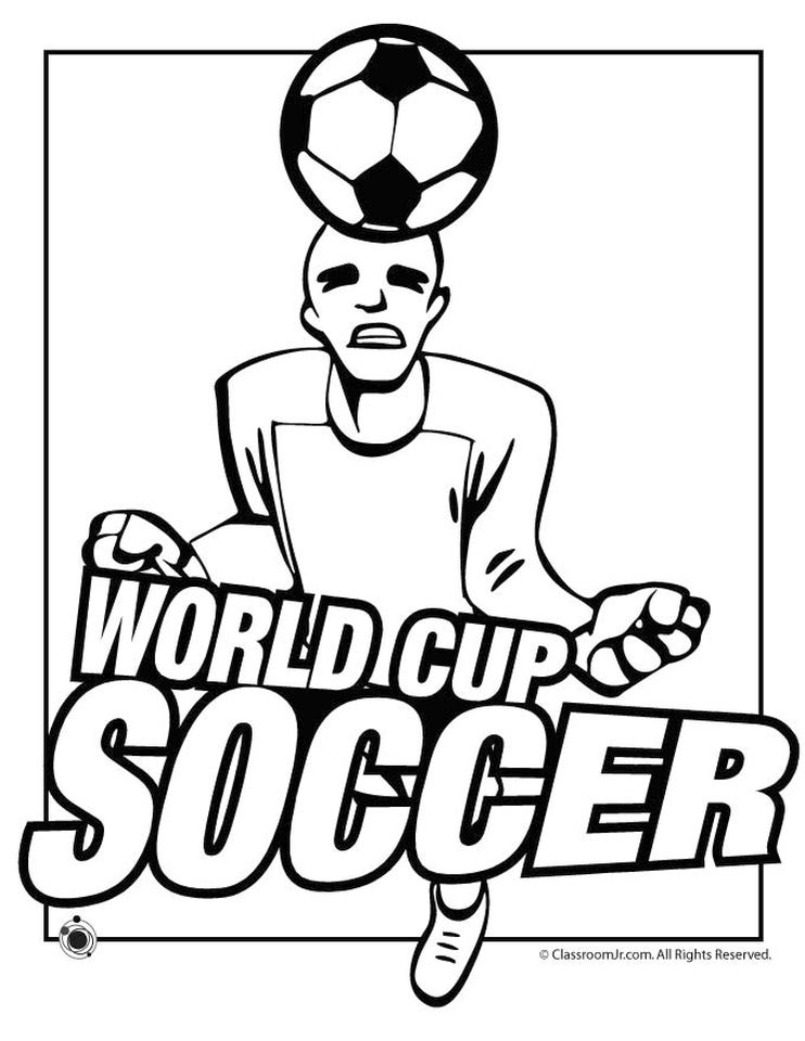 Get This Soccer Coloring Pages Kids Printable  74mla