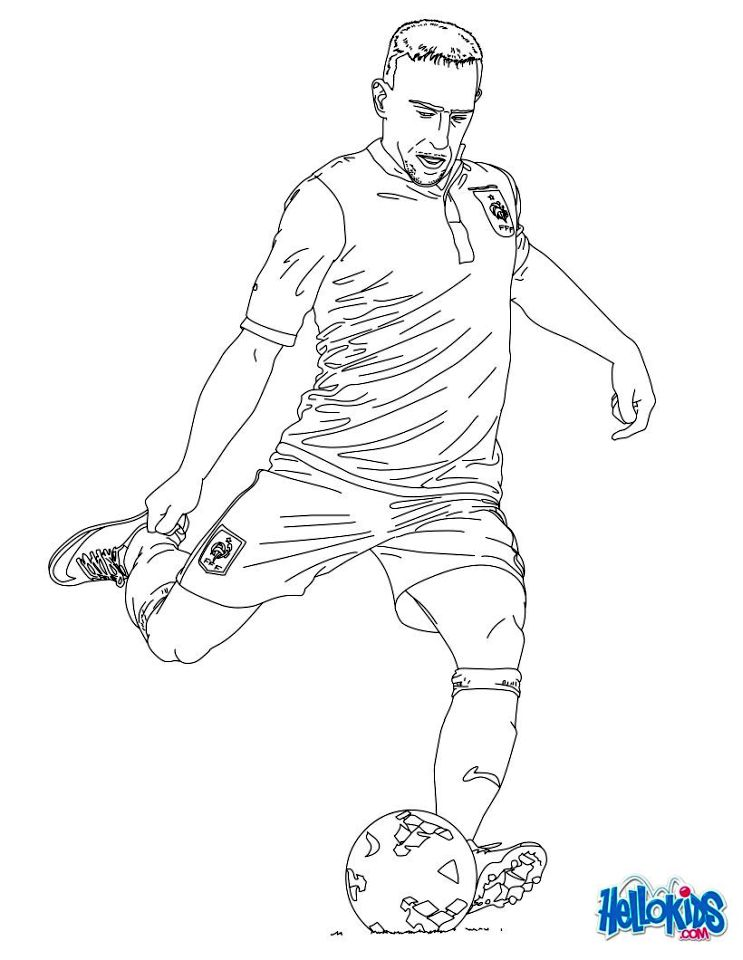 Get This Soccer Coloring Pages Kids Printable - mt84l !