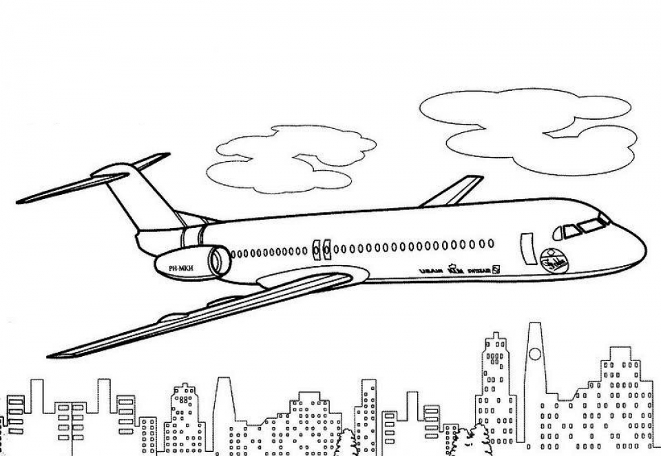 Get this airplane coloring pages for adults tac41 for Airplane coloring page printable